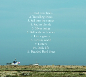 Shed Songs Back cover